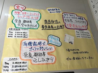 奈良のお米に関する情報