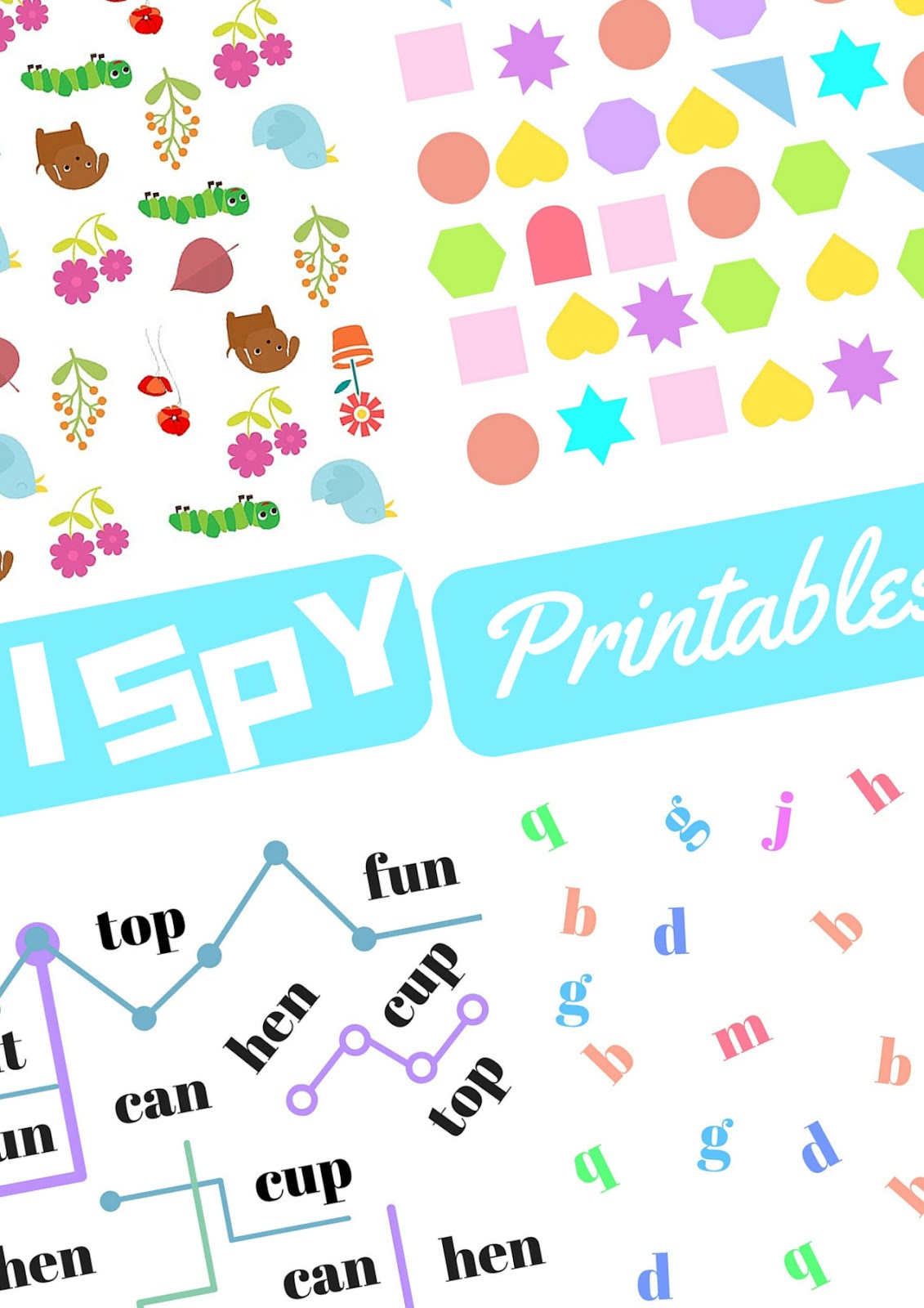 Practical Mom I Spy Printables Practical Mondays 15