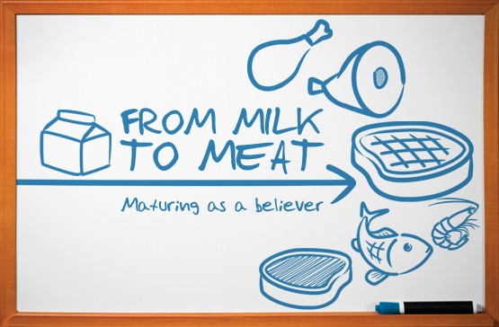 From Milk (religious culture) to Meat (kingdom culture)
