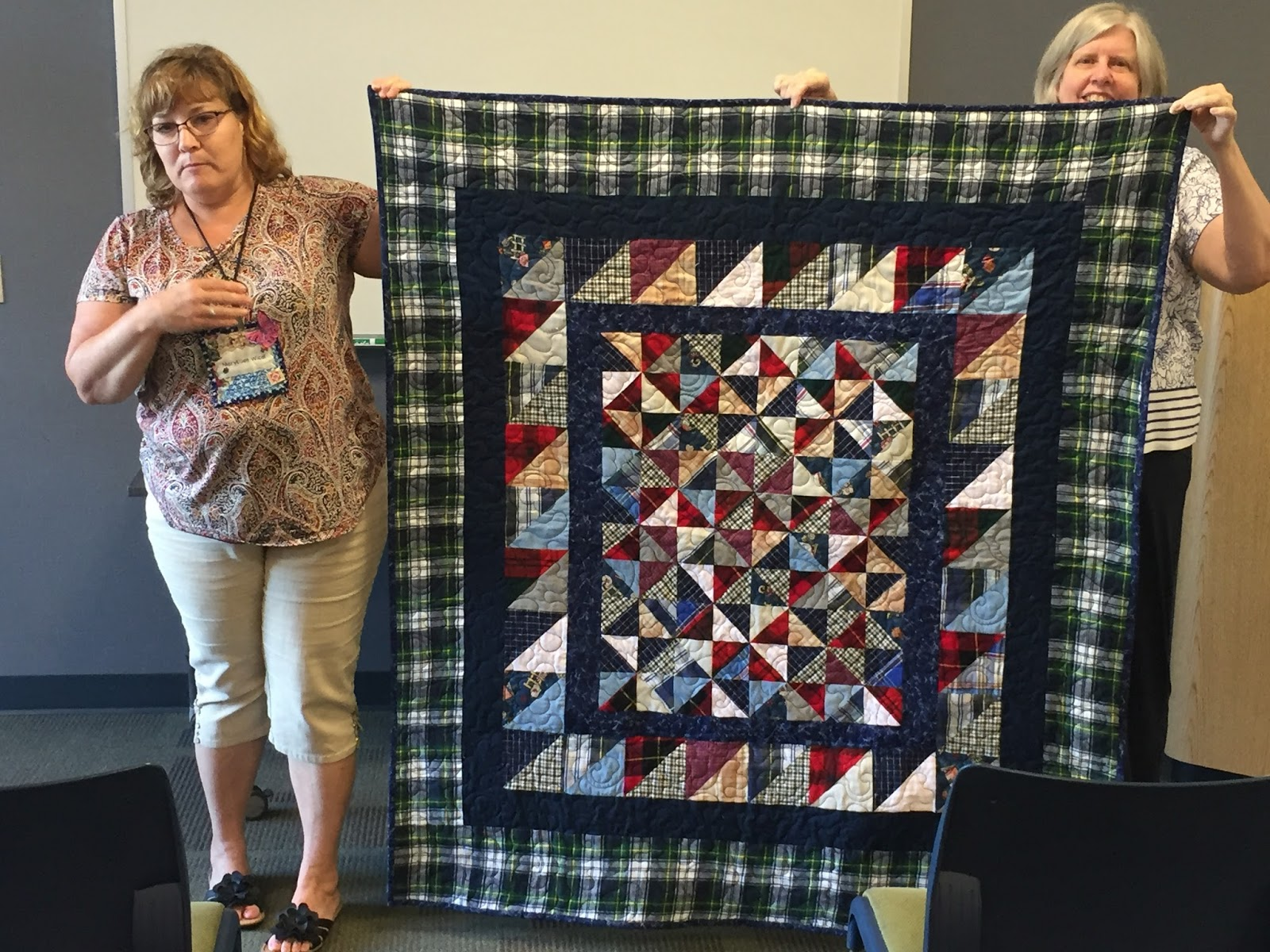 Capital Area Modern Quilt Guild: June CAMQG Sew and Tell : how quilts are made - Adamdwight.com