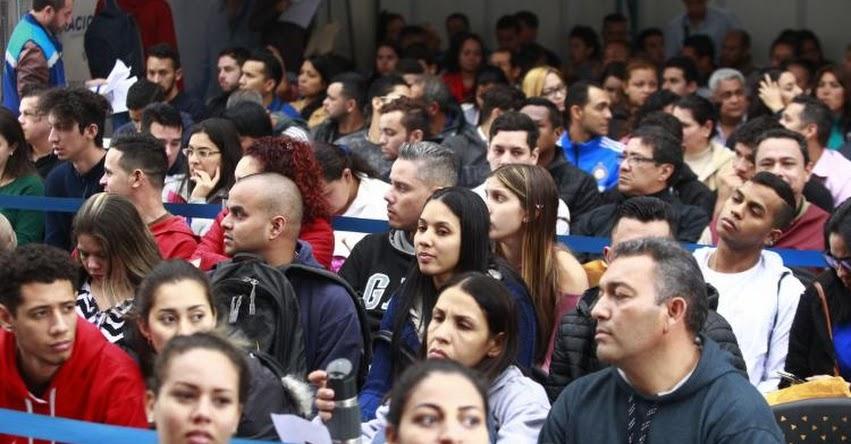VENEZOLANOS EN PERÚ: Ciudadanos extranjeros pueden tramitar el PTP hasta el 31 de diciembre - www.migraciones.gob.pe