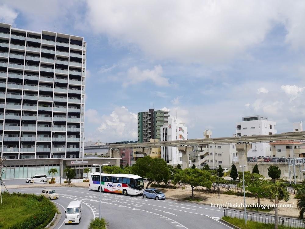 沖繩-交通-單軌電車-那霸-新都心-自由行-旅遊-旅行-Okinawa-yui-rail- transport-train