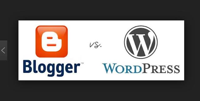 5 Perbedaan Blogspot dan Wordpress yang harus Diketahui