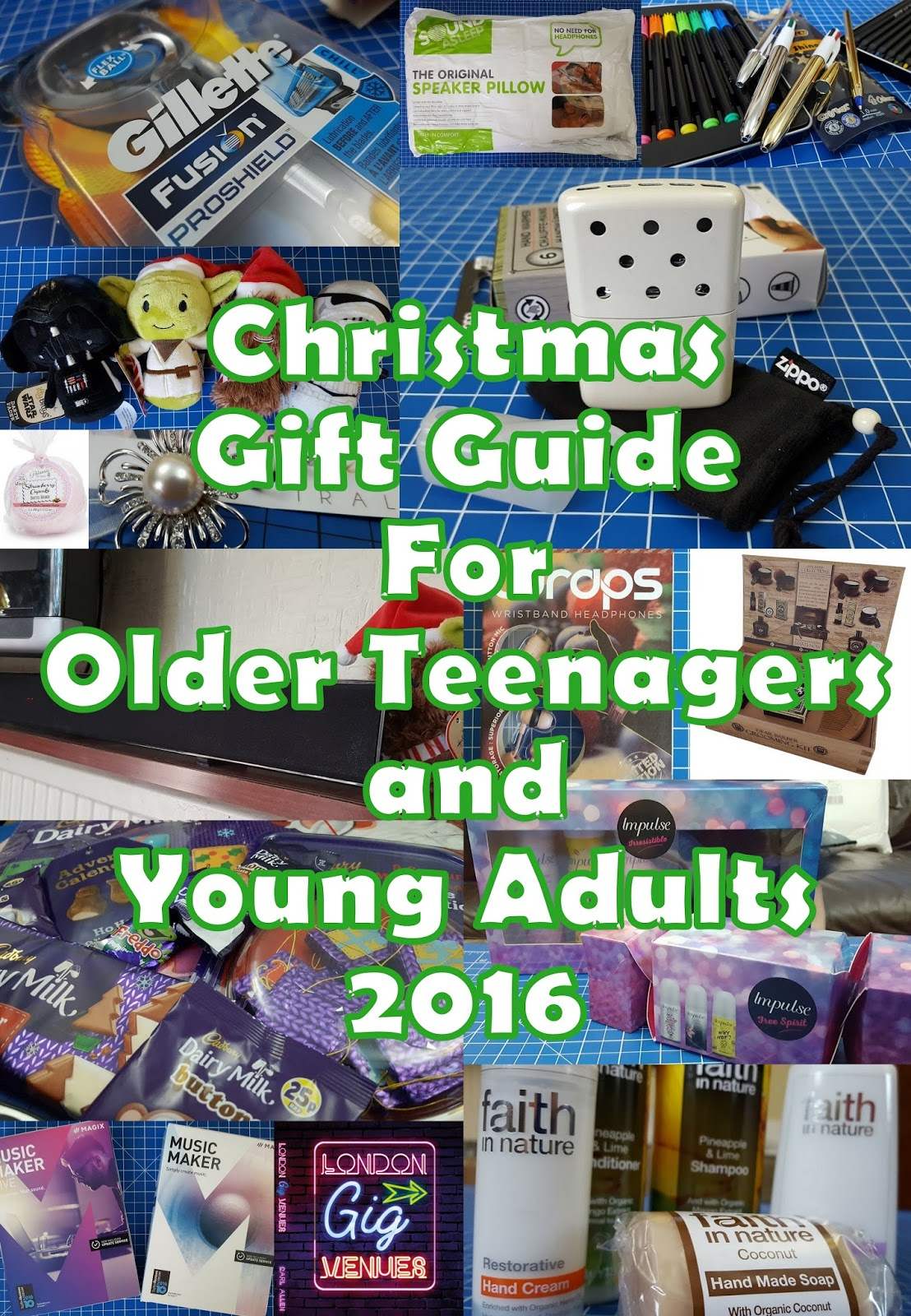 The Brick Castle: Older Teenagers and Young Adult\'s Gift Guide 2016