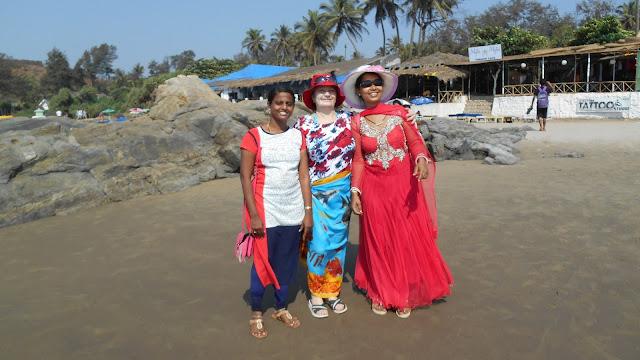На пляже Вагатор