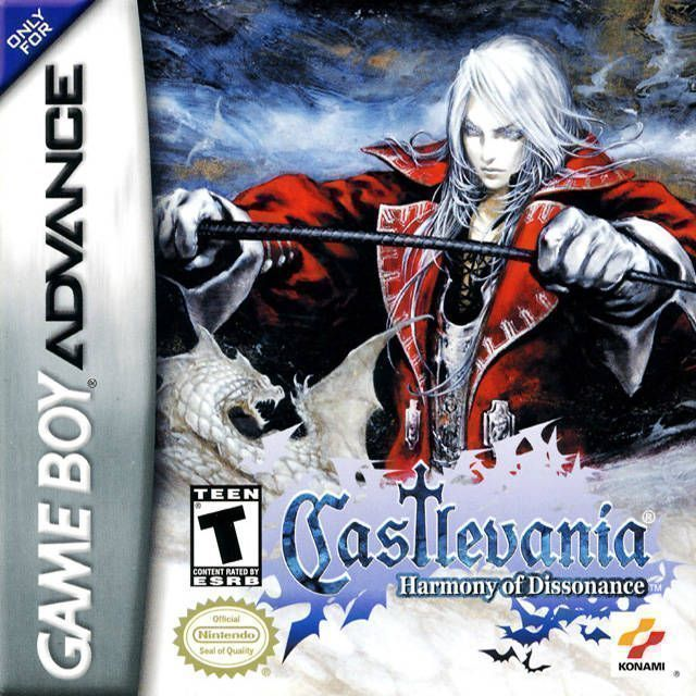 ROMs - Castlevania - Harmony of Dissonance (Português) - GBA Download