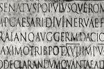 Inscripción en lengua latina