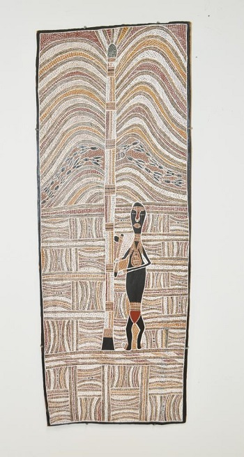 Wolpa Waṉambi | australian cool aboriginal art | bark paintings | yirrkala artists artworks | kunst