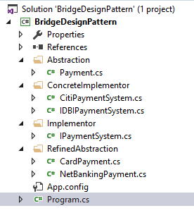 bridge design pattern real time example