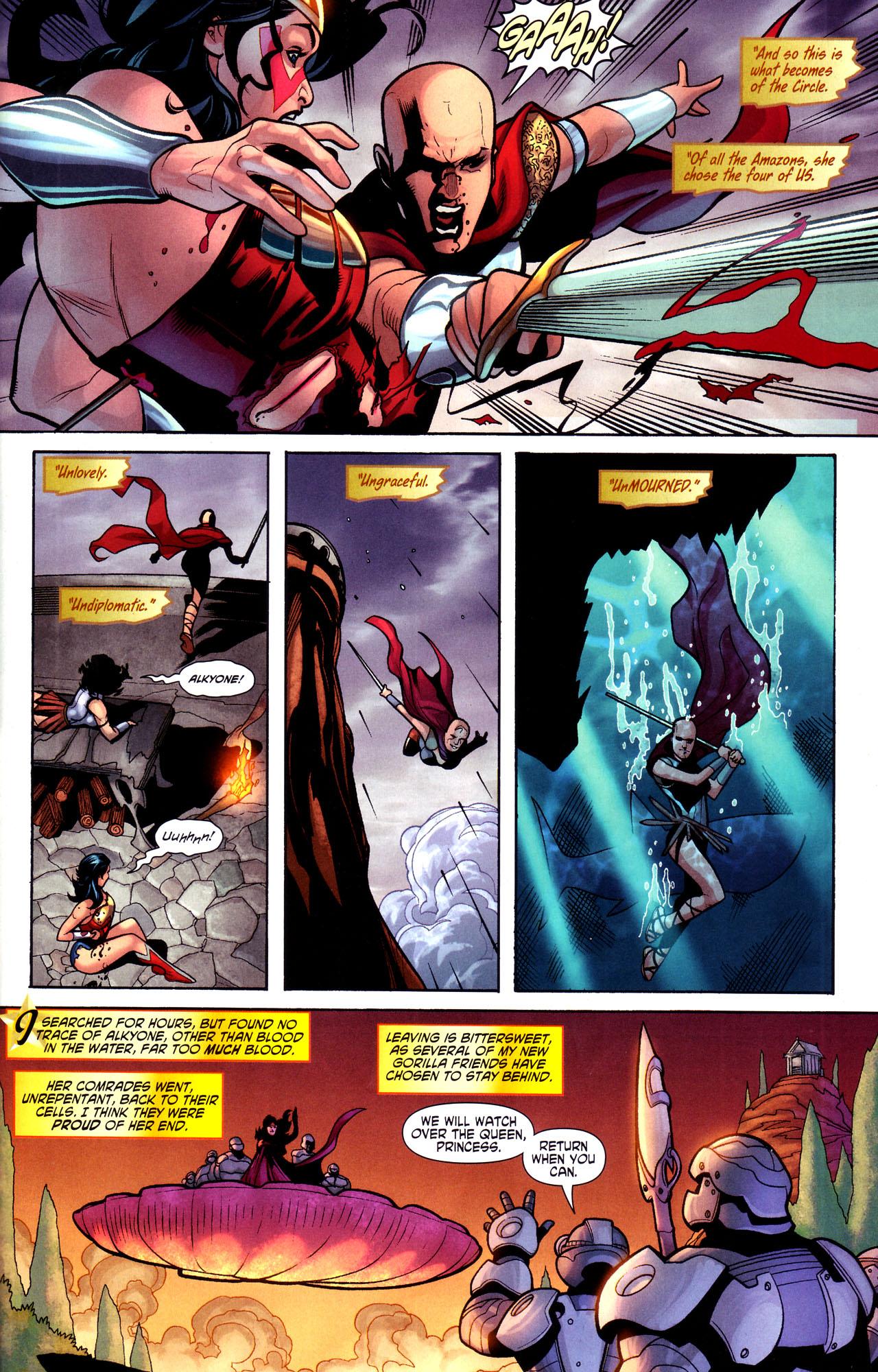 Read online Wonder Woman (2006) comic -  Issue #17 - 21