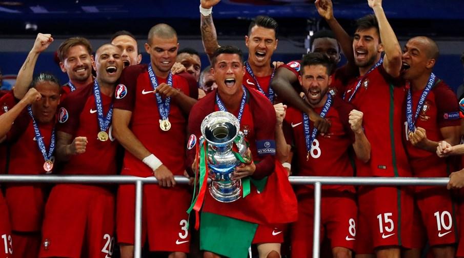 de2d0eeb9b68a Portugal Campeão da Eurocopa de 2016. Portugal conquistou a Eurocopa de  2016 superando ...