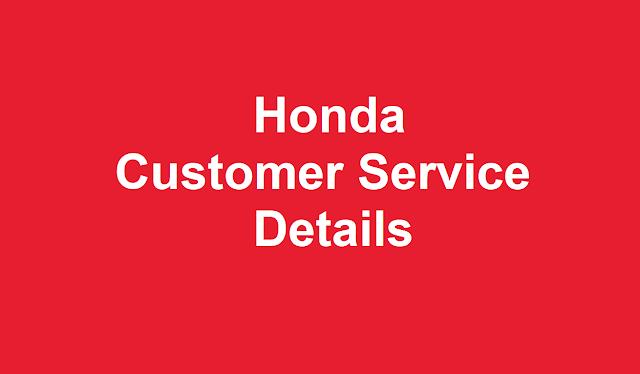 Honda Customer Service