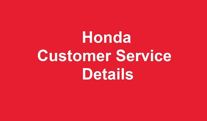 Honda Customer Service  | Honda Customer Service Number