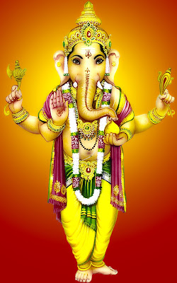 good morning with ganesha