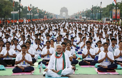 The Second International Day of Yoga