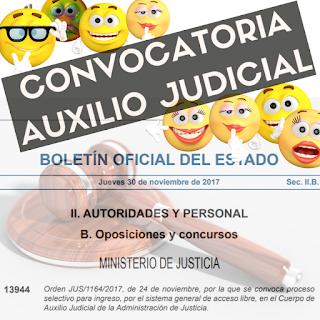 auxilio-judicial-convocatoria-boe
