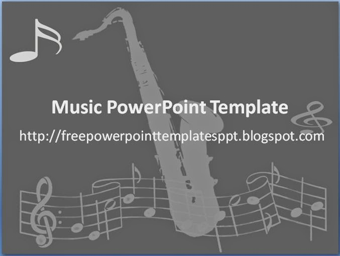 Free music powerpoint templates download background for presentation music powerpoint template with notation and instrument image toneelgroepblik Gallery
