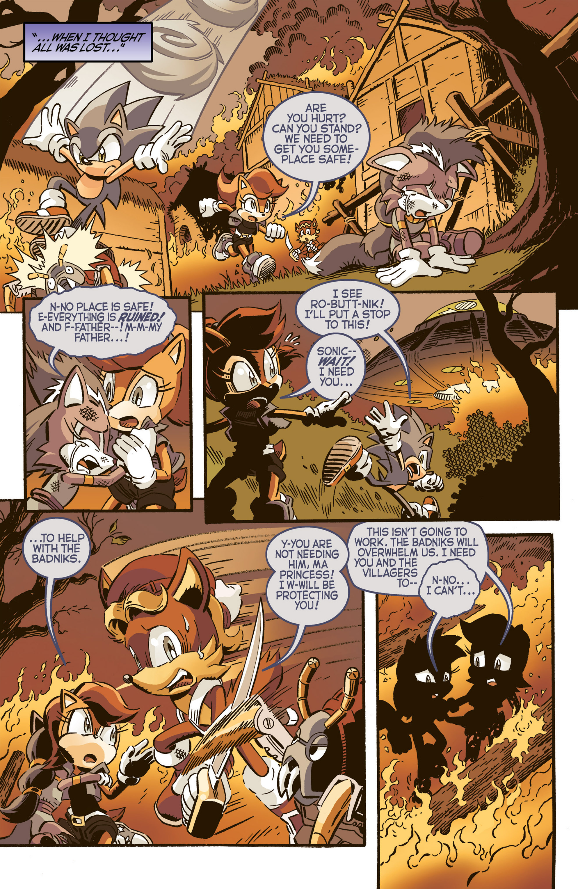 Read online Sonic The Hedgehog comic -  Issue #277 - 7