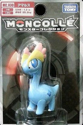 Amaura figure Takara Tomy Monster Collection MONCOLLE MC series