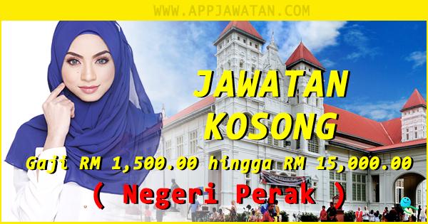 Jawatan kosong di area Negeri Perak