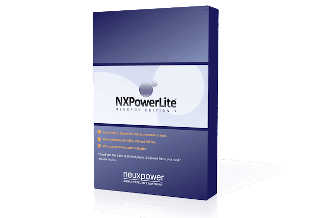 NXPowerLite Desktop 7 : Kompres PDF, MS Office dan JPEG