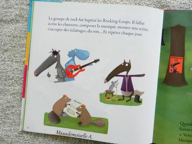 || Sélection de livres sur la musique : Le loup qui voulait être artiste