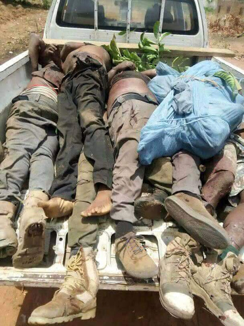Four policemen killed by gunmen in Benue, 11 others missing (graphic photos)