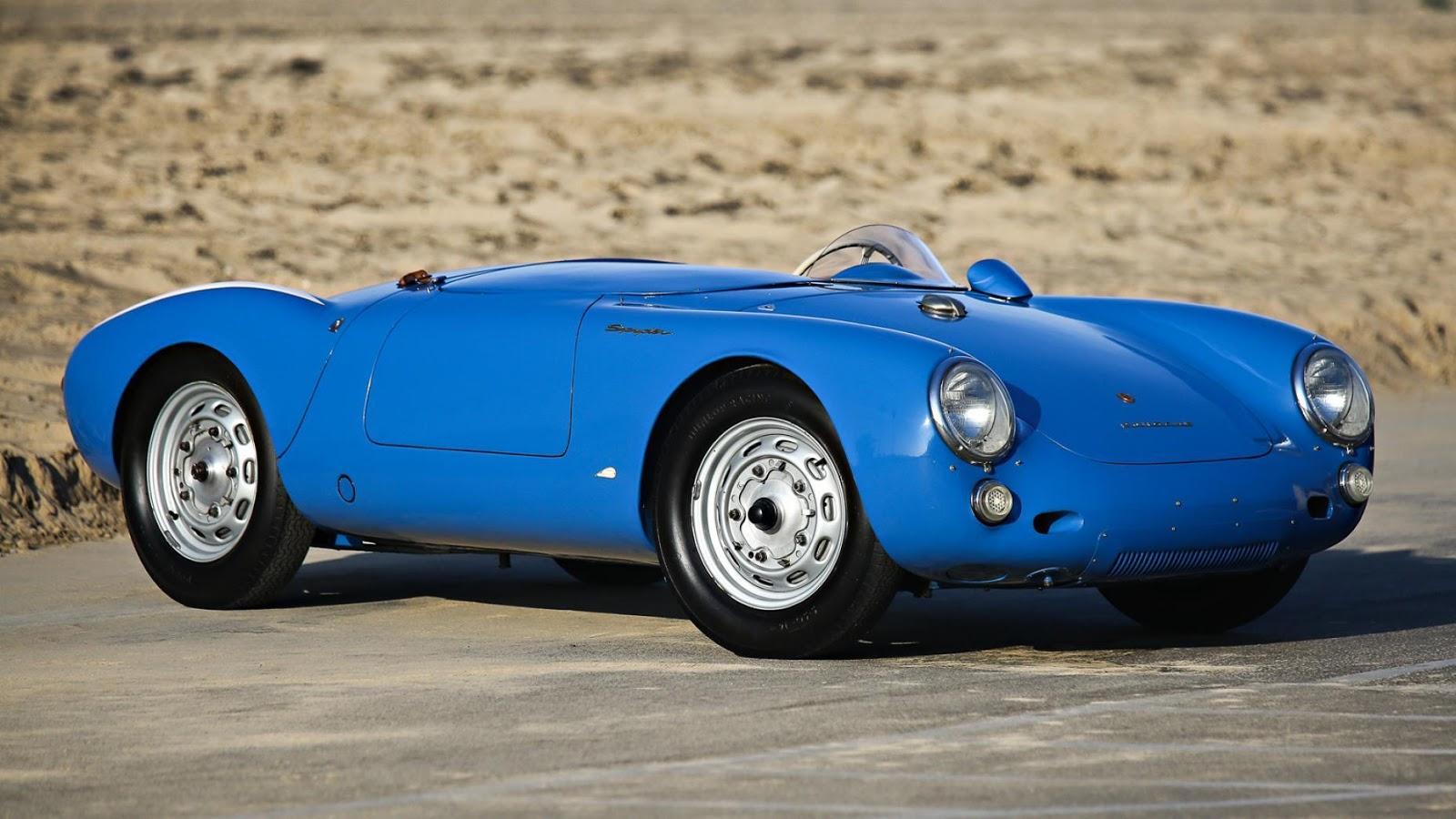1955 Porsche 550 Roadster: $5,335,000