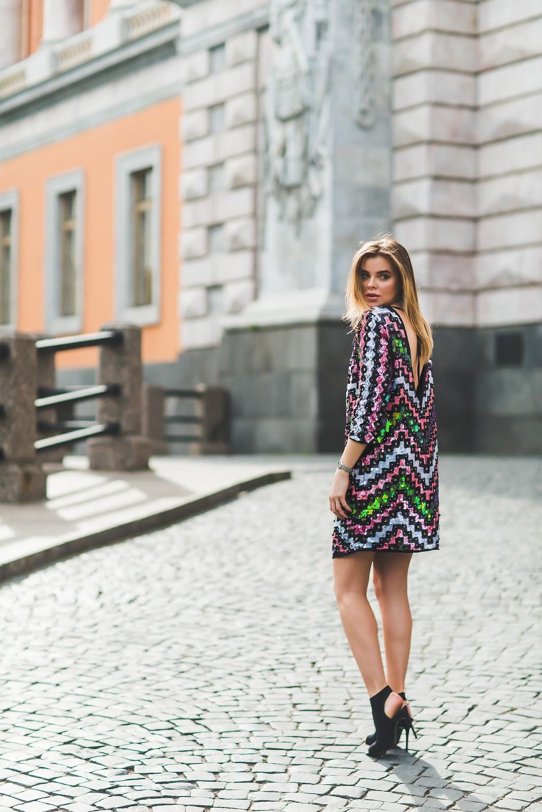 Partykleider mit Pailletten: Diese Paillettenkleider sind 2018 Trend