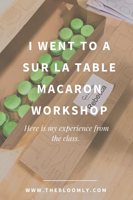 I Went to a Sur La Table Macaron Workshop