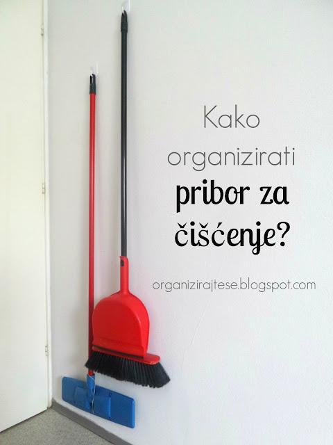 Organizacija pribora za čišćenje
