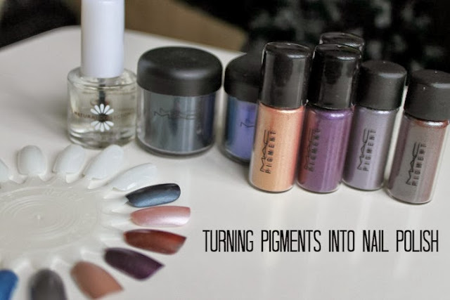 How To: Turning Mac Pigments Into Nail Polish?