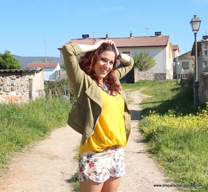Camiseta amarillo 2016