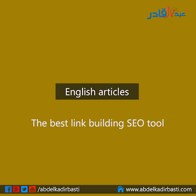 The best link building SEO tool