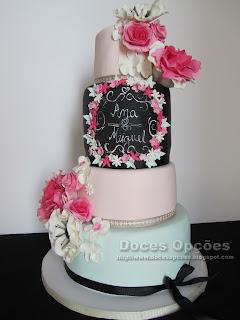 bolo casamento doces opções bragança