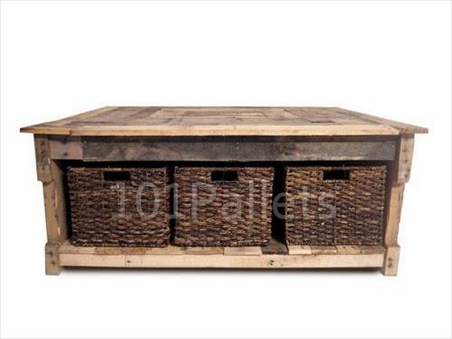 Multipurpose Reclaimed Pallet Coffee Table | Pallet ...