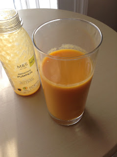 marks and spencer smoothie pumpkin