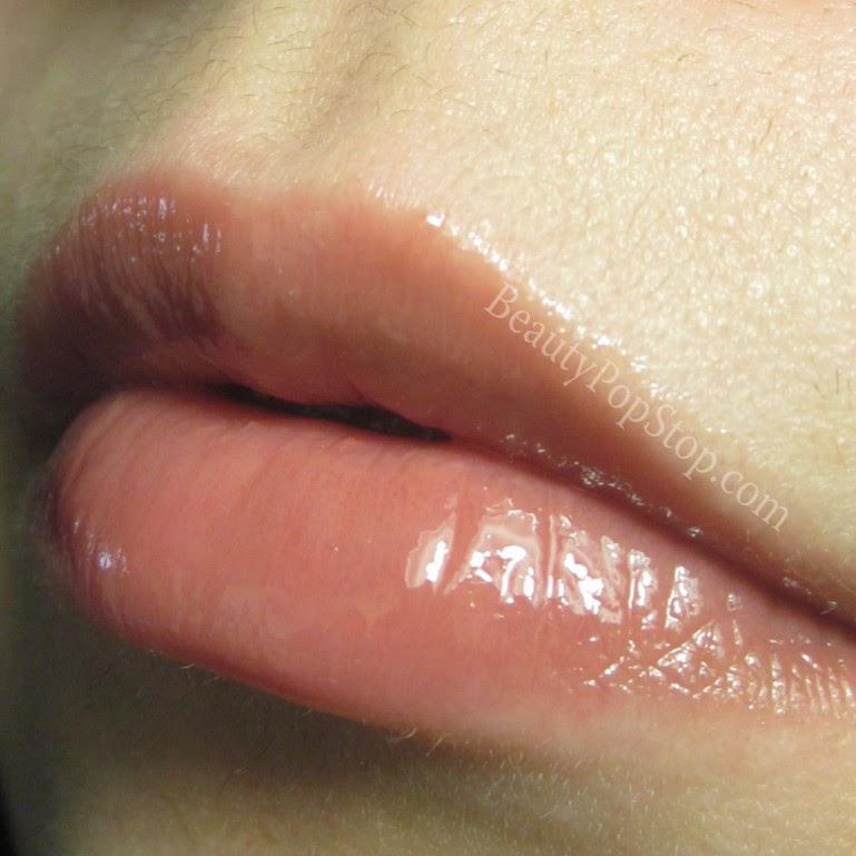 tarte cosmetics lipsurgence lip gloss exposed swatch