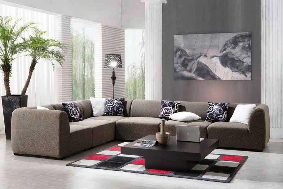 Desain Sofa Ruang Tamu Elegan