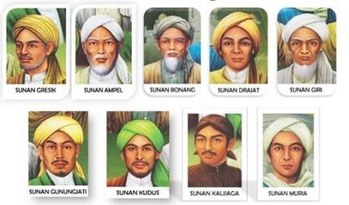 tokoh penyebar agama Islam di tanah Jawa sekitar kurun  Nama-Nama Wali Songo Beserta Biografi dan Sejarahnya [Terlengkap]