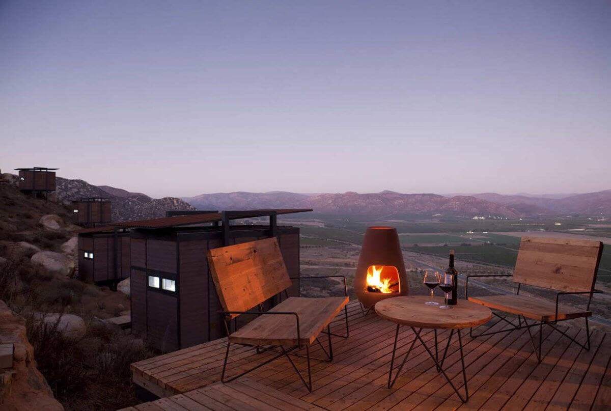 01-Fireplace-Gracia-Studio-Cabin-Architecture-set-on-a-Hill-www-designstack-co