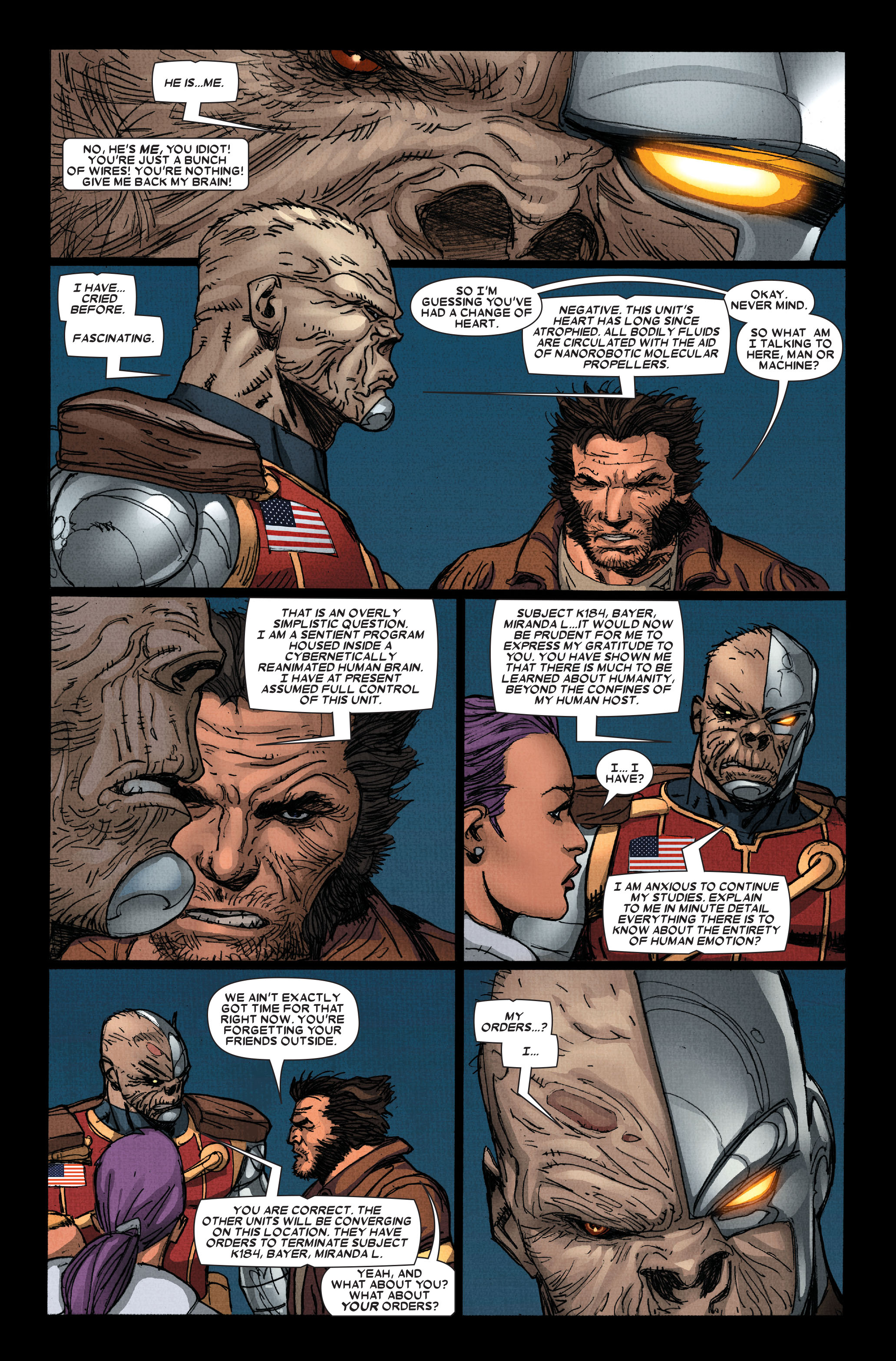 Read online Wolverine: Weapon X comic -  Issue #15 - 14