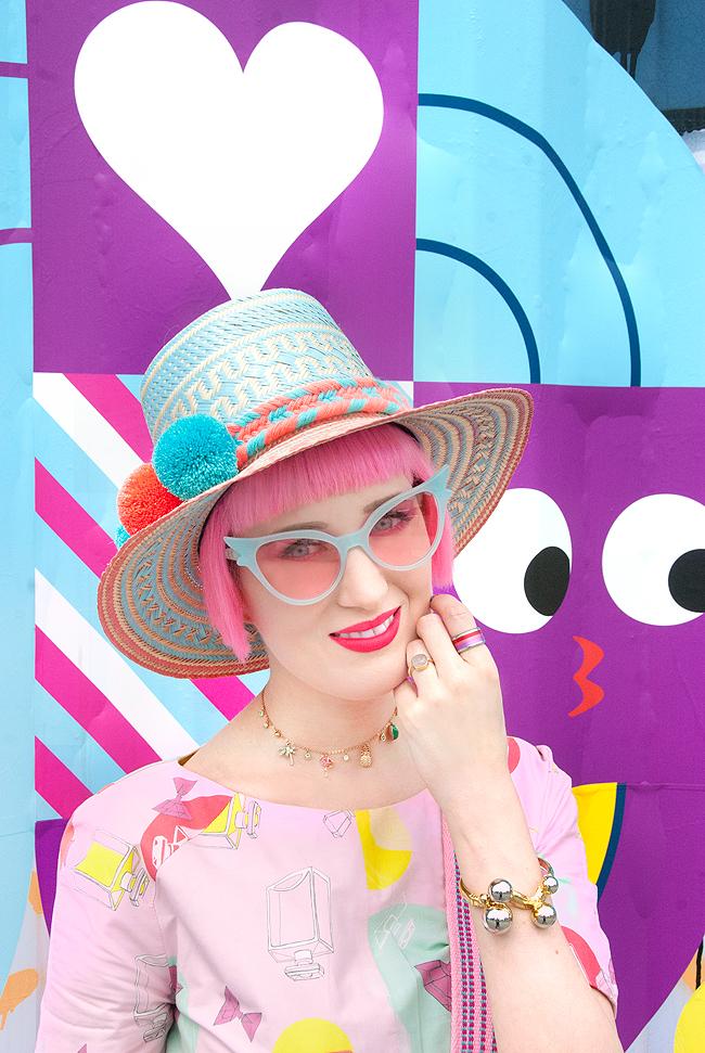 Swissfashionblogger, wayuu hat, tropical look
