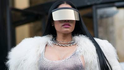 Nicki Minaj na lista das cantoras mais ouvidas do Brasil no século XXI