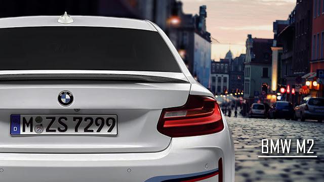 BMW M2 Rear Wallpaper Dekstop