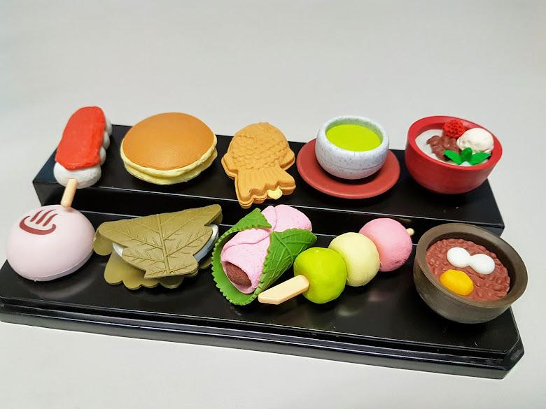 日式甜點像皮擦