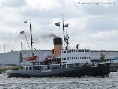 Eisbrecher Stettin im Hamburger Hafen