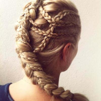 23+ Stylish Dutch Braid Hairstyle Ideas to Copy Next Holiday