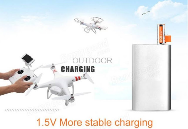 Li-po Battery USB Rechargeable 1 Hour Quick Charging AA 4PCS SORBO 1.5V 1200mAh