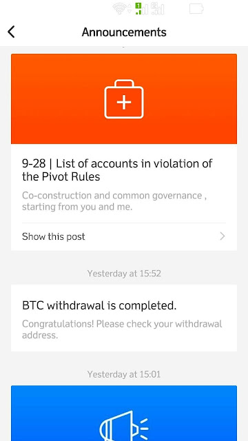 Bitcoin Tercepat dengan Aplikasi Token Pivot